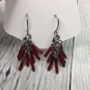 5/$25 Boho chic festival dangle earrings